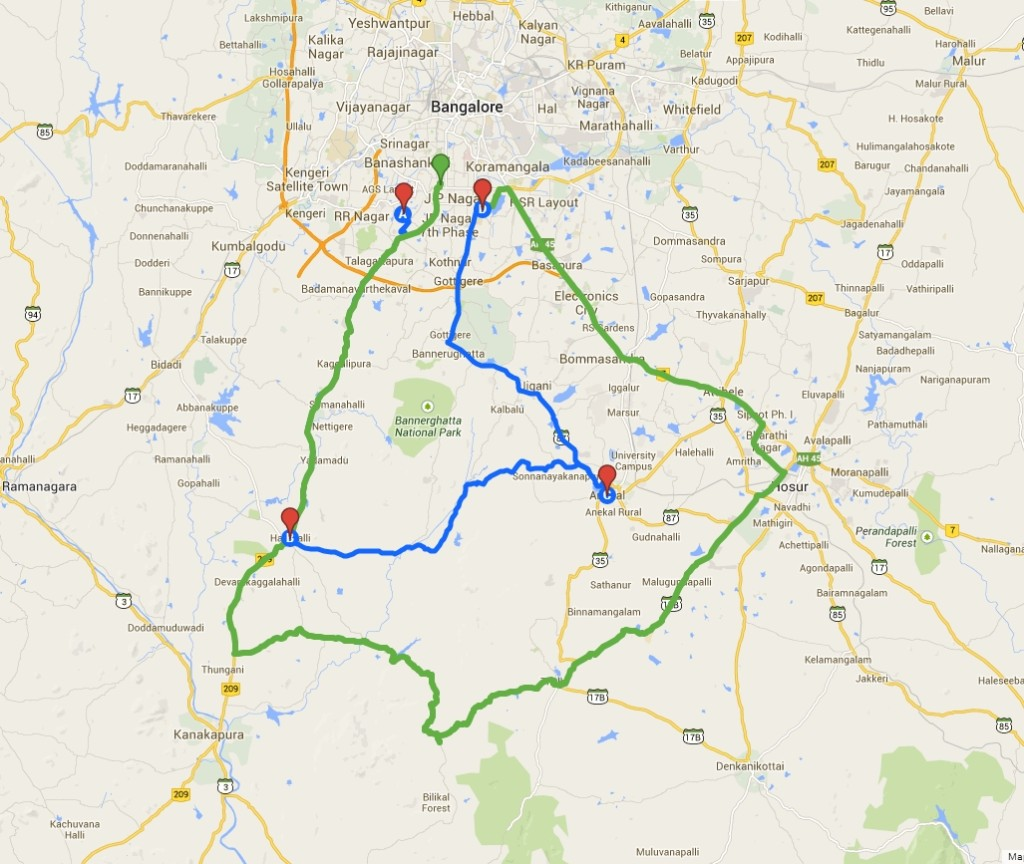 GPS Route