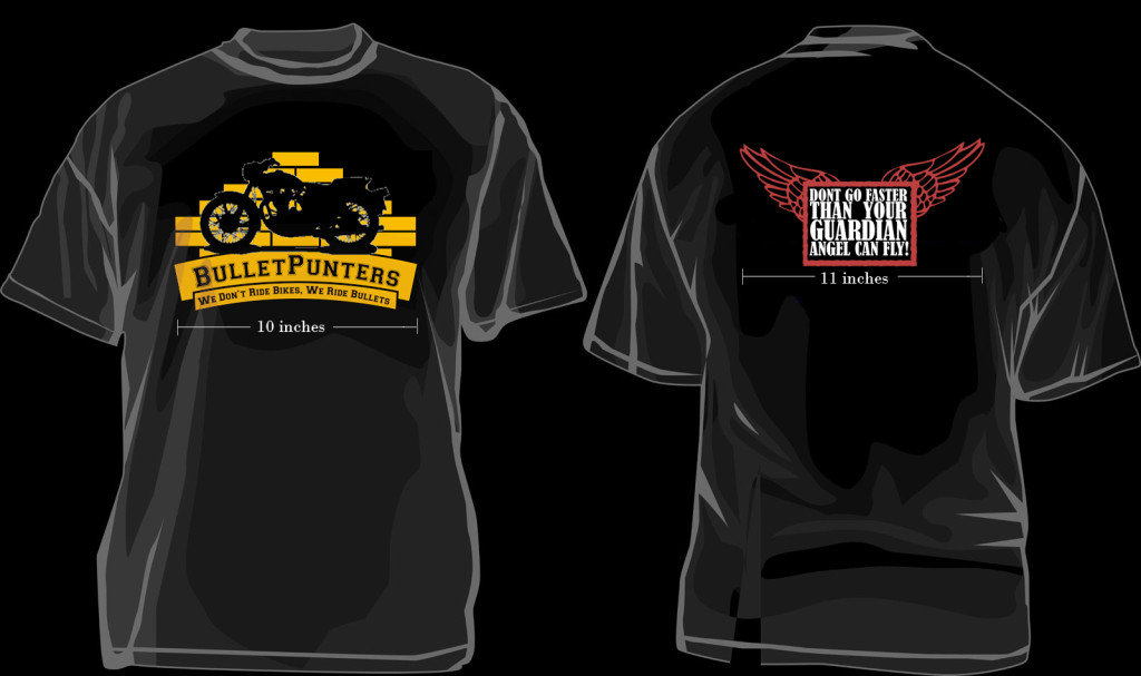 The Bulletpunters Tee Shirt