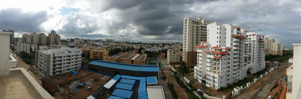 Clouds Over Bangalore
