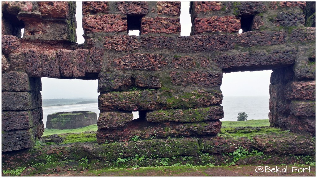 Bekal Fort Overlooking The Arabian Sea